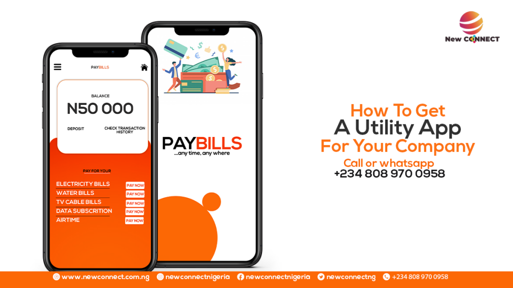 How To Get A Mobile App for your Utility Payments Business In Nigeria