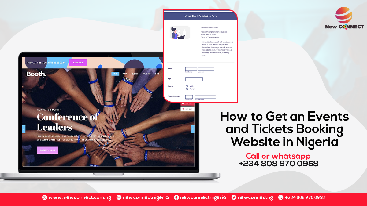 How to Get an Events and Tickets Booking Website in Nigeria
