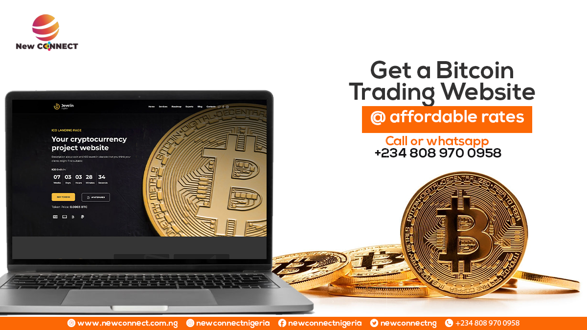 How to get a Bitcoin Trading Website for your Business in Nigeria