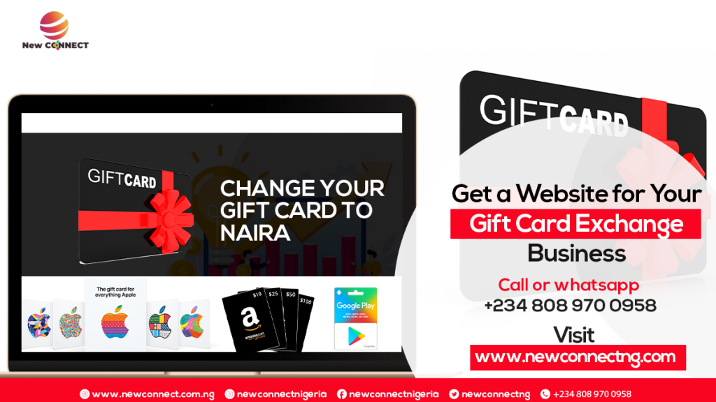 How To Get Your own Gift Card Trading Website In Nigeria